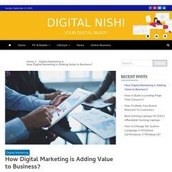 How Digital Marketing is Adding Value to Business - Digital Nishi