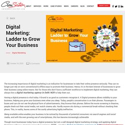 Digital Marketing: Ladder to Grow Your Business