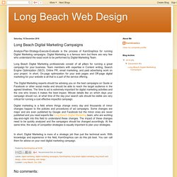 Long Beach Web Design: Long Beach Digital Marketing Campaigns