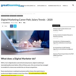 Digital Marketing Career Path, Salary Trends and Future
