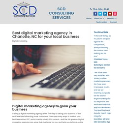 Digital marketing agency in Charlotte and why to call them