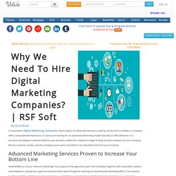 Why we need to hire digital marketing companies rsf soft