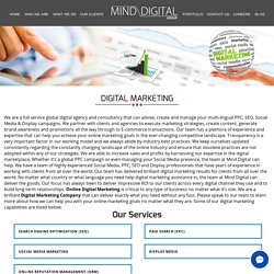 Digital Marketing Company India, Digital Marketing Experts Team