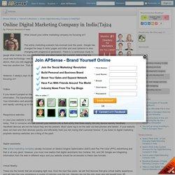 Online Digital Marketing Company in India