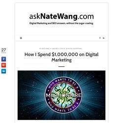 Nate Wang - Digital marketing and SEO company