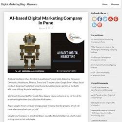 AI-based Digital Marketing Company in Pune