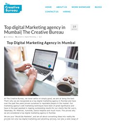 Top digital Marketing agency in Mumbai