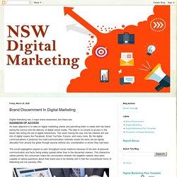NSW Digital Marketing: Brand Discernment In Digital Marketing