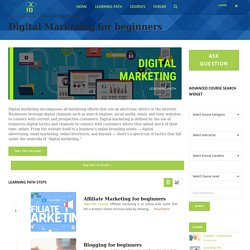 Digital Marketing Course Online - Edfinite