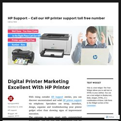 Digital Printer Marketing Excellent With HP Printer