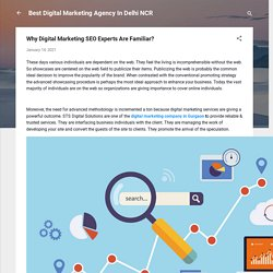 Why Digital Marketing SEO Experts Are Familiar?