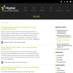 Digital Marketing Blogs by Digital Footprints USA