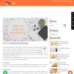 A B C of Digital Marketing