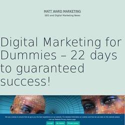 Digital Marketing for Dummies – 22 days to guaranteed success!