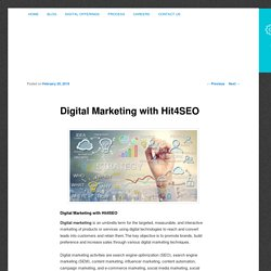 Digital Marketing with Hit4SEO