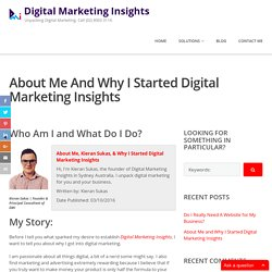 Learn more about Kieran Sukas & Digital Marketing Insights