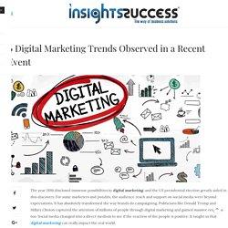 Latest digital marketing trends- Insights Success