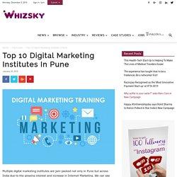 Best Digital Marketing Training Institutes in Pune