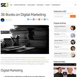 36 Books on Digital Marketing