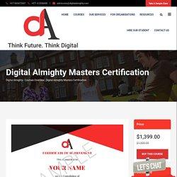 Digital Marketing Masters Degree Online