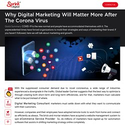 Why Digital Marketing Will Matter More After the Corona Virus