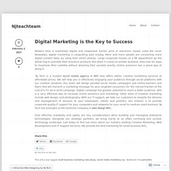 Digital Marketing is the Key to Success « Njteachteam