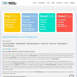Digital Marketing lens on Photography