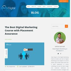 Best Digital Marketing Course with Placement in Kerala