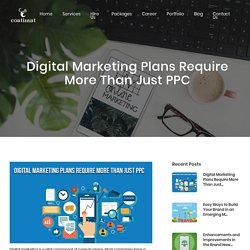 Digital Marketing Plans Require More Than Just PPC