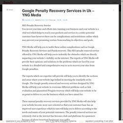 Google Penalty Recovery Services In Uk - YNG Media