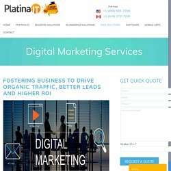 Digital Marketing Services Toronto