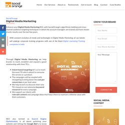 Digital Media Marketing - SocialOrange