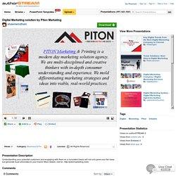 Digital Marketing Solution by Piton Marketing