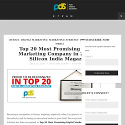 Top 20 Digital Marketing Company 2018 in India