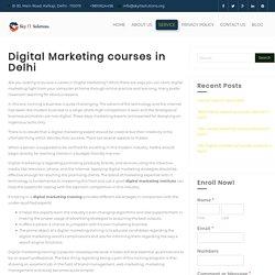 Digital Marketing courses in Delhi - Sky IT Solutions