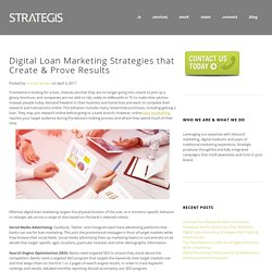 Digital Loan Marketing Strategies that Create & Prove Results