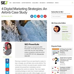4 Digital Marketing Strategies: An Airbnb Case Study