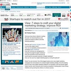 infographic: 7 steps to craft your digital marketing strategy, Marketing & Advertisement News, ET BrandEquity