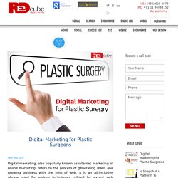 Digital Marketing for Plastic Surgeons - Redcube Digital Media Blog – News and Updates