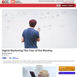Digital Marketing This Year of the Monkey