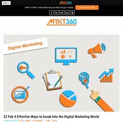 Best Digital Marketing Company in Toronto - Mrkt360