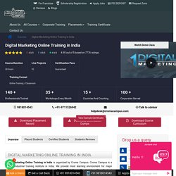 Best Digital Marketing Online Training Courses in India – Croma Campus
