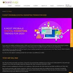 New Digital Marketing trends for 2021