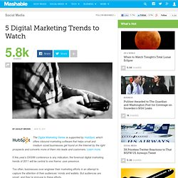 5 Digital Marketing Trends to Watch
