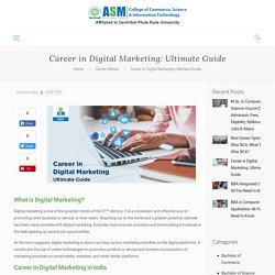 Career in Digital Marketing: Ultimate Guide