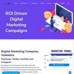 Digital Marketing Company in Vadodara: #1 Social Media Marketing Service