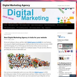 Best Digital Marketing Agency in India for your website