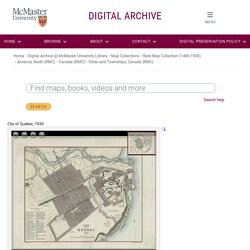 Digital Archive @ McMaster University Library