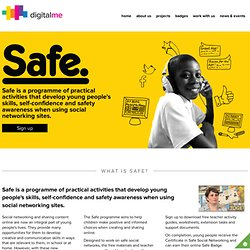 DigitalMe Safe Social Networking