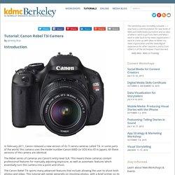 Digital Media Canon Rebel T3i Camera - Digital Media